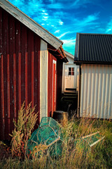 fish society, Sweden, sheds