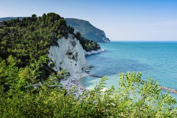 Fotorolgordijn Kust Riviera del Conero, Marche Italy