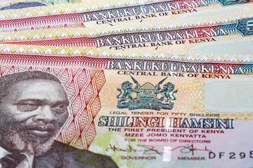 banknotes and currency of Kenya Wall mural