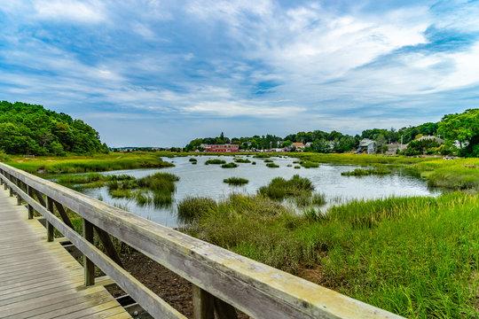 Uncle Tim's Bridge, Wellfleet, Cape Cod, MA US.
