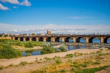 Le Pont Régemortes à Moulins sur Allier