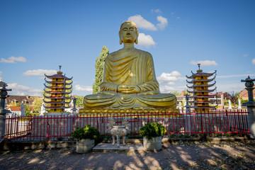 Bouddha de la Pagode Phat Vuong Tu à Noyant-d'Allier