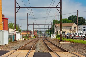 Commuter RR vanishing perspective
