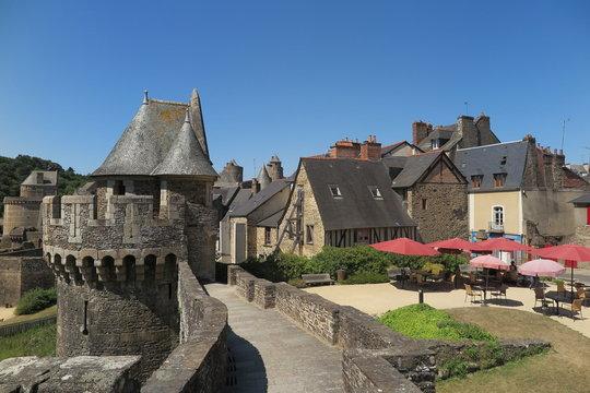 Festung von Fougères, Bretagne