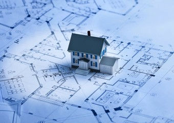 Blueprints for a new home