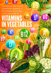 Vitamin food source in vegetables