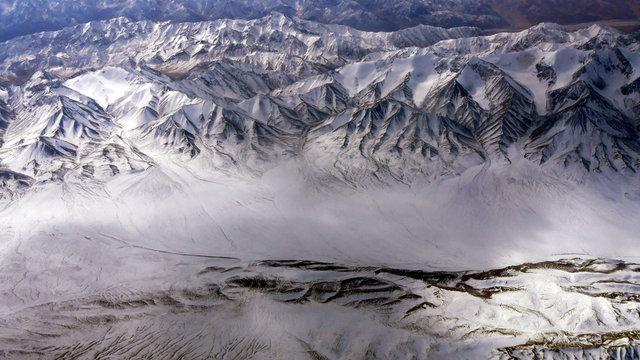 Have a bird's eye view of the xinjiang