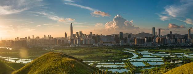 Shenzhen city, guangdong province, building, landscape