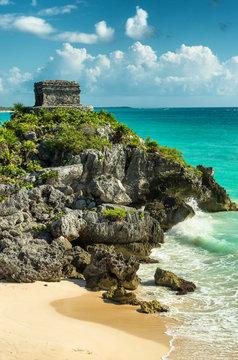 Ancient Mayan city Tulum, Mexico