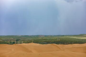 Dune in inner mongolia