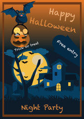 halloween backgrounds vector illustration