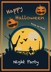 halloween backgrounds vector illustration