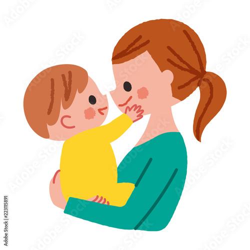 赤ちゃん 抱っこ イラストfotoliacom の ストック画像とロイヤリティ