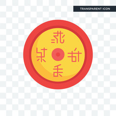 Esoteric vector icon isolated on transparent background, Esoteric logo design
