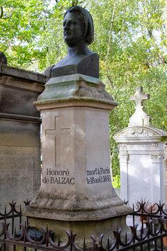 buste de Honoré de Balzac au Père-Lachaise