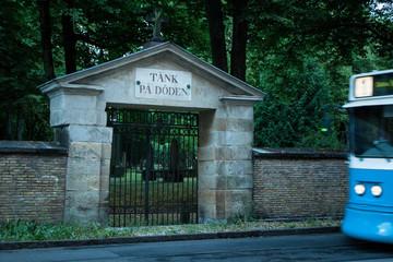 Think of Deth - cemetery - Gothenburg