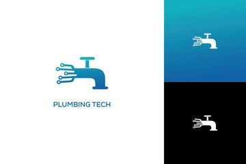 PLUMBING TECH LOGO DESIGN