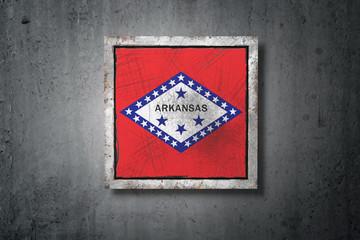 Old Arkansas State flag