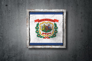 Old West Virginia State flag