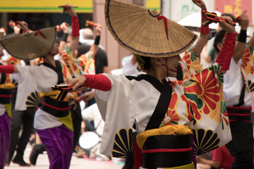 高知県のよさこい祭り