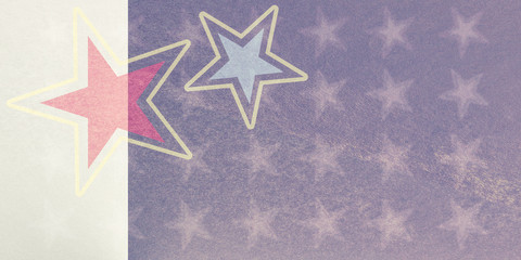 decorative abstract geometric star shapes backdrop