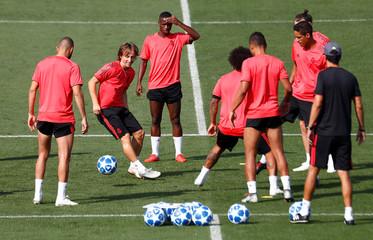 Champions League - Real Madrid Training