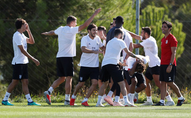 Champions League - Benfica Training