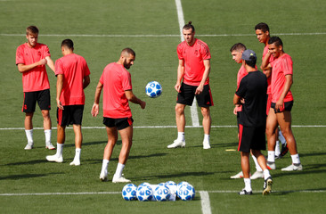 Champions League - Real Madrid Training