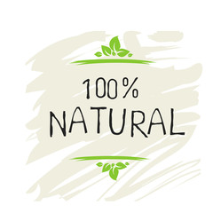 Natural product 100 bio healthy organic label and high quality product badges. Eco, 100 bio and natural food product icon. Emblems for cafe, packaging etc. Vector