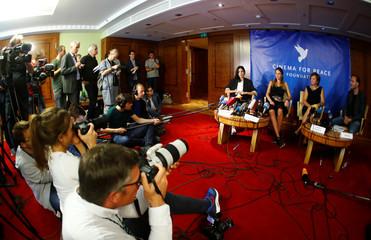 News conference about treatment of Pyotr Verzilov in Berlin