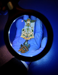 Over one hundred and fifty Masonic jewels go on display for the exhibition 'Bejewelled' at the Museum of Freemasonry in London, Britain