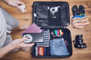 Preparing for trip