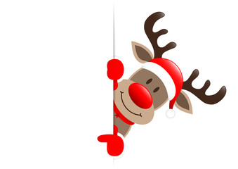 Rudolph Horizontal Banner Showing
