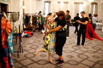 The Wider Image: Model with Down's syndrome makes strides worldwide