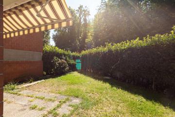 Exterior apartment garden