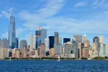 Manhattan skyline, NYC, USA