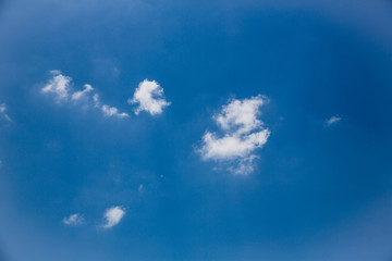 blue sky with cloud closeup.beautiful blue sky with clouds background.Dramatic sky with stormy clouds.