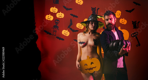 Romantic Couple In Halloween Holiday Happy Best Ideas For Spooky