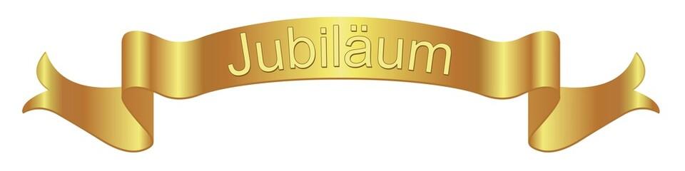 Banner. Jubiläum