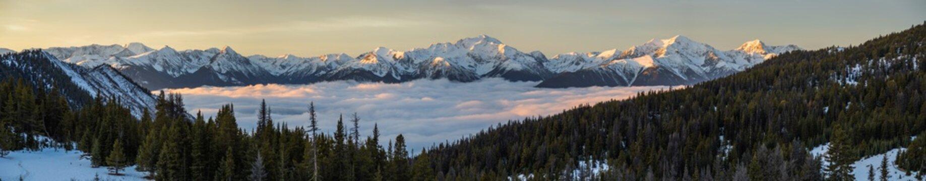 Canadian Rockies Panoramic