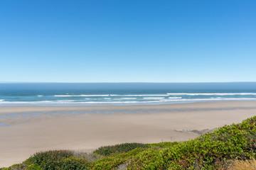 Oregon Coast beach view