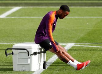 Champions League - Manchester City Training