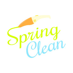 spring clean background