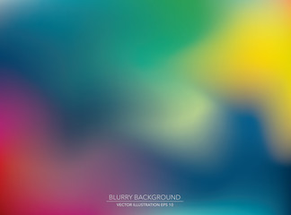 blur back mix
