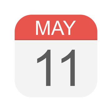 May 11 - Calendar Icon