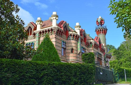 Villa Quijano (el capricho) de Antoni Gaudí, en Comillas Cantabria España