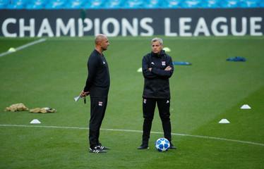 Champions League - Olympique Lyonnais Training