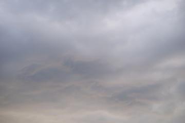 Gewitter Wolken Regen Sonnen Licht