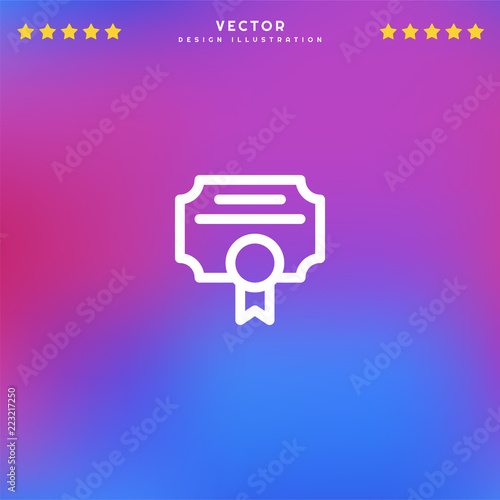 Premium Symbol Of Contract Related Vector Line Icon Isolated On
