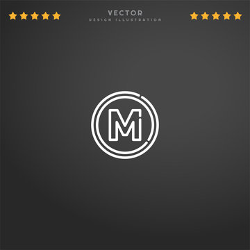 Premium Symbol of Metro Related Vector Line Icon Isolated on Gradient Background. Modern simple flat symbol for web site design, logo, app, UI. Editable Stroke. Pixel Perfect.